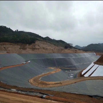HDPE geomembrane pond  liner for lake dam