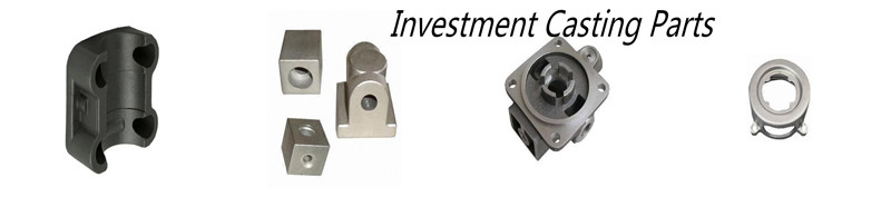 Investment casting steel custom components