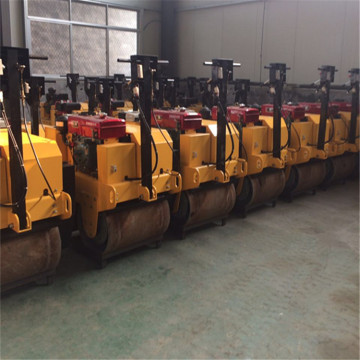manual  roadway road roller