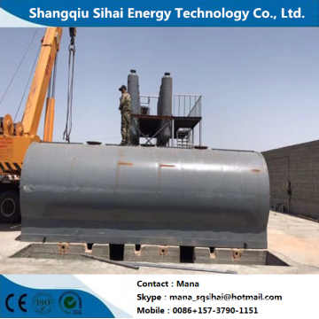 Used Plastic Oil Distillation to Diesel Facility