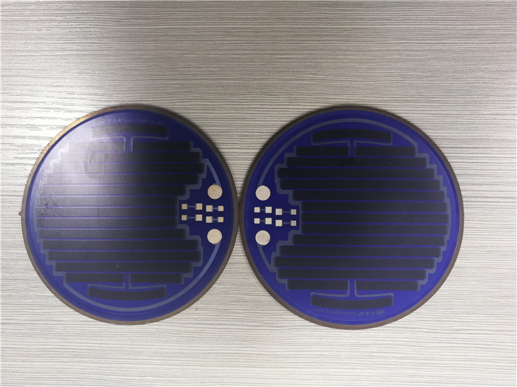 High power density thick film heating plate