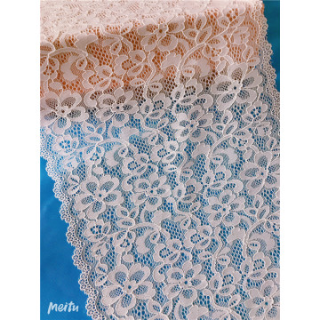 White Embroidery Guipure Lace Trim Textile Fabric
