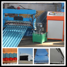 Corrugated Steel Sheet Metal Roof Panel Making Machine