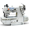Direct Drive Flatbed Interlock Sewing Machine with Rear Puller