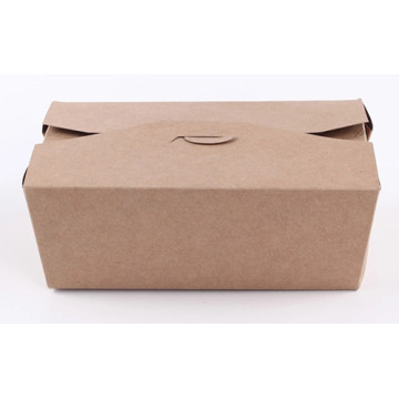 Customized brown kraft food boxes