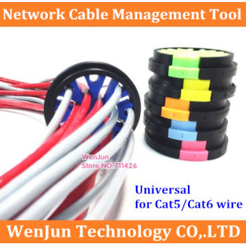 network cable management tool for Category 5 / Category 6 network cabinet computer room network cable comb support 33 lines