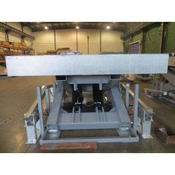 Large hydraulic lift table