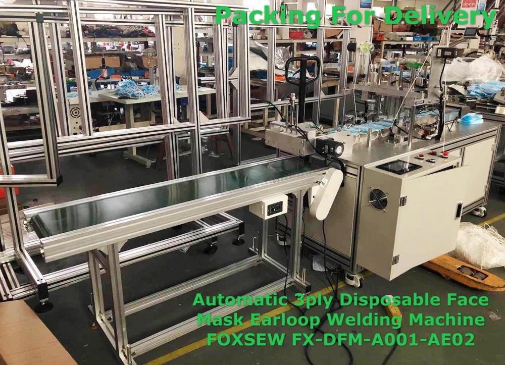Automatic Mask Earloop Welding Machines Fx Dfm A001 Ae02 6
