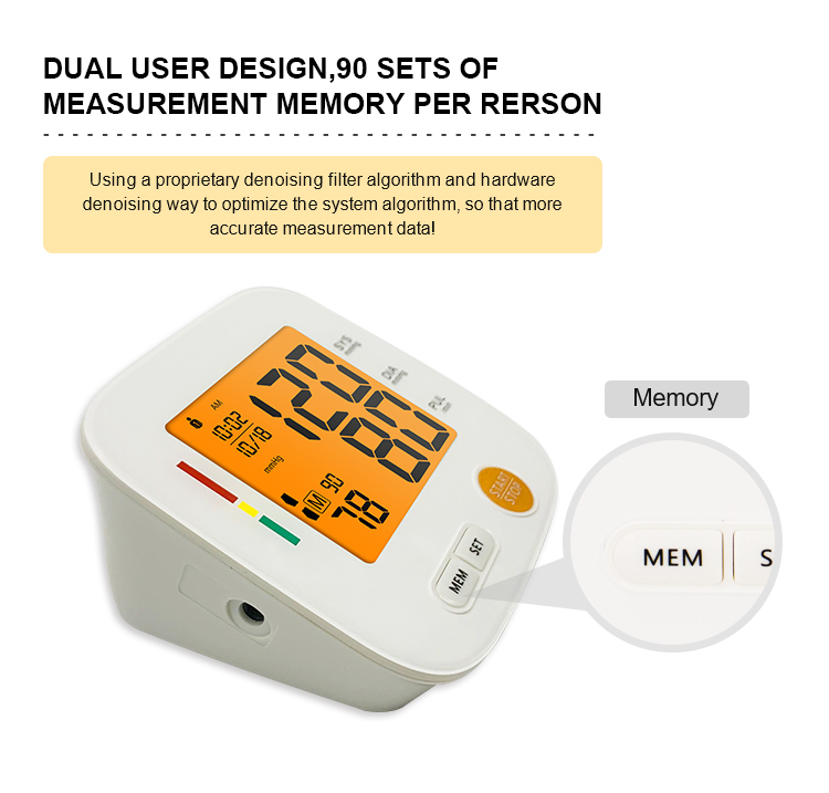 medical blood pressure monitor