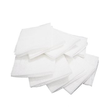 White Cotton Fabric Medical Absorbent Gauze Block