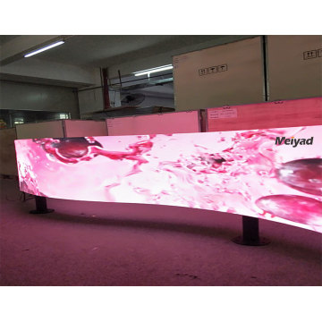 flexible advertising SMD display
