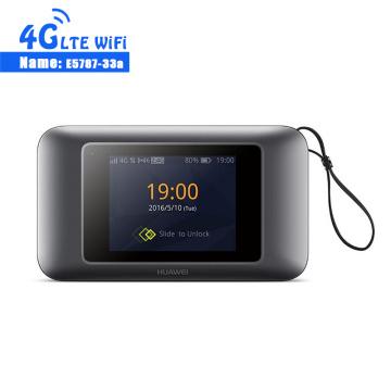Unlocked New Arrival Huawei E5787 E5787s-33a 4G LTE Cat6 300Mbps Mobile WiFi Hotspot 3000mAh Battery LTE 4G Portable Router