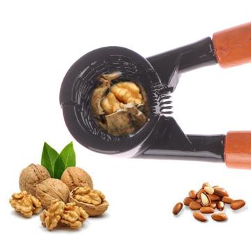 Walnut Clip Open Pecan Clip Nut Pliers Whole Grain Peeling Walnut Tool Kitchen Tools Household Walnuts Nutcrackers Drop Ship
