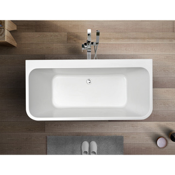 Simple Acrylic Natural Stone UPC Square Bathtub