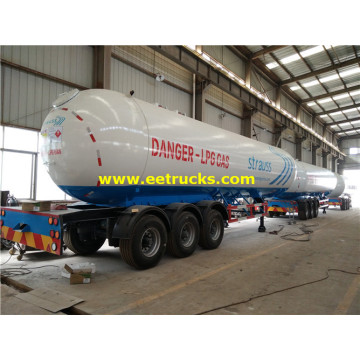 30ton LPG Gas Delivery Trailer Tanks