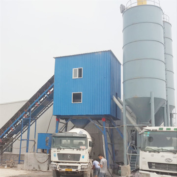 JS mixer HZS90 giant concrete batching plant