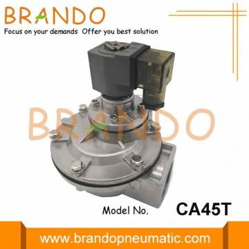 Right Angle Pulse Jet Diaphragm Valve