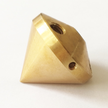 OEM CNC Machining Brass Parts DIY Connector Block