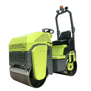 High efficiency HONDA engine single cylinder road roller