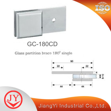 180 Degree Glass to Wall Glass Clamp