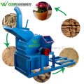 sawdust wood diesel engine hammer crusher working machinery