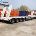 Low Bed Trailer For Transporting Excavators