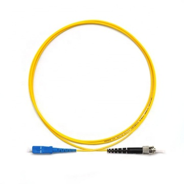 SC to ST SM Simplex  Patch Cord