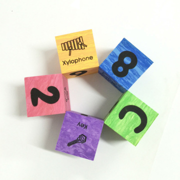 marble alphabet & number foam blocks Toys Gift
