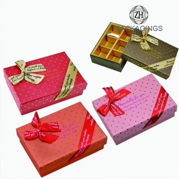 6 Packs Chocolate Box Design Ideas