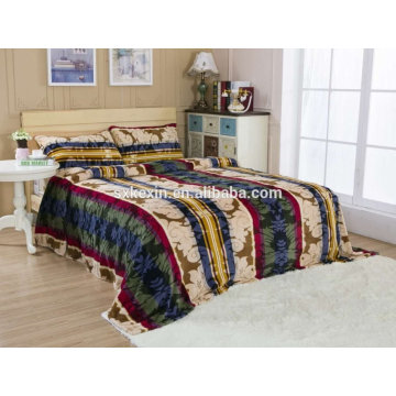 Super soft thick 300gsm flannel blanket bedding