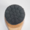 Bamboo Charcoal Fiber Face Washing Brush