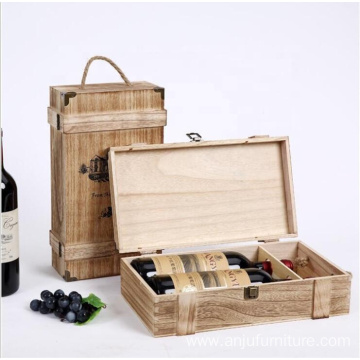 luxury Wooden Wine Packing Box