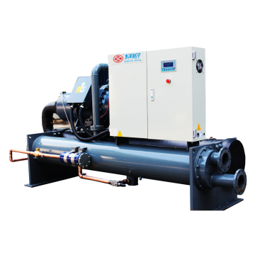 eco-friendly industrial water cooled screw chiller