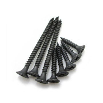 Black Phosphate Gypsum Drywall Screws