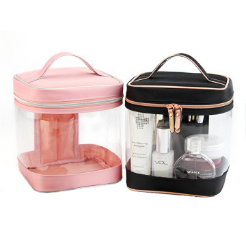Customized Transparent Clear PVC Cosmetic Makeup Bag