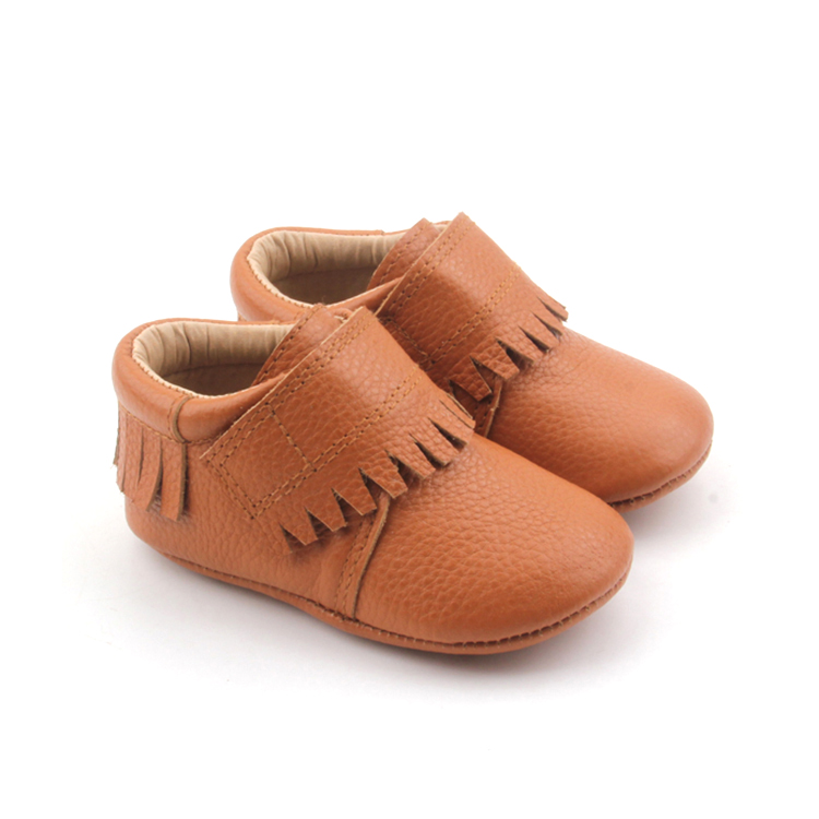 Brown Soft Sole Baby Moccasins Casual Shoes
