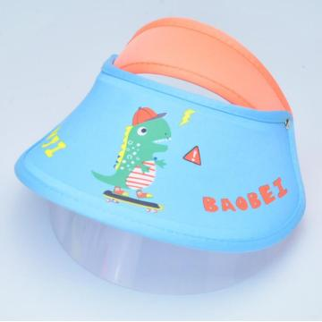 Hospital double protective mask faceshield for kids