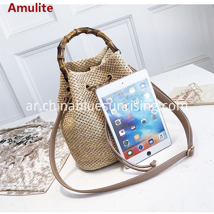 new fashion bucket bag woven straw bag
