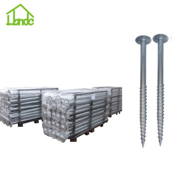 Low price ground screw pole anchor