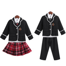 Boys/Girls British Style School Uniform with Shirt