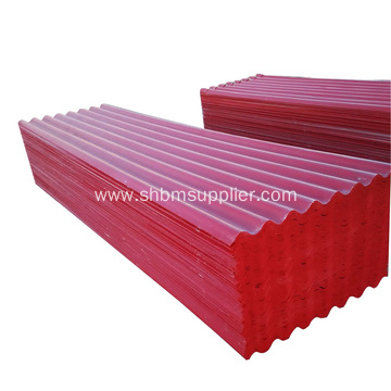 Substitute of Asbestos Sheets Steel Sheets