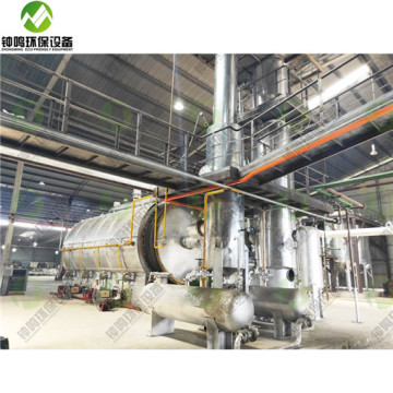 Crude Oil Distillation System And Refining Products