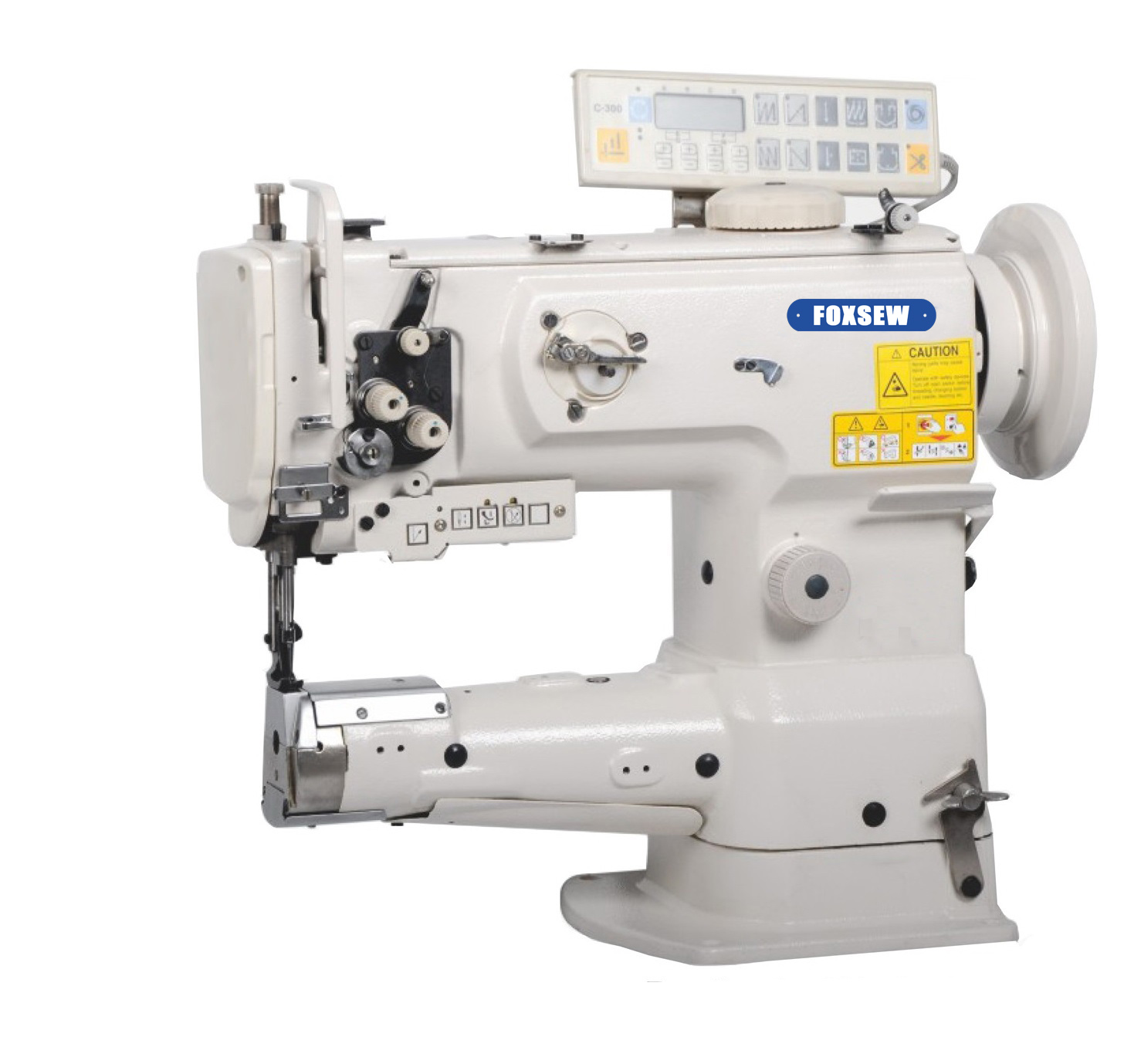 KD-1341-7 Single Needle Cylinder Bed Unison Feed Lockstitch Sewing Machine with Automatic Thread Trimmer