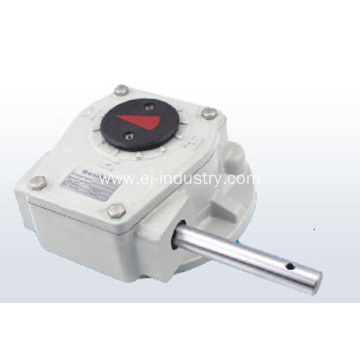 Part turn Worm Gearbox