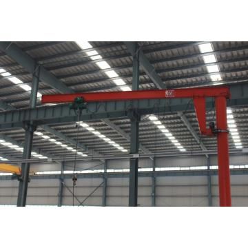 1ton reasonable design and price fixed slewing jib crane