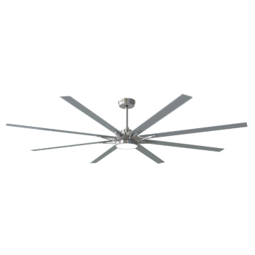 Ceiling Fan with 8 Blades gray