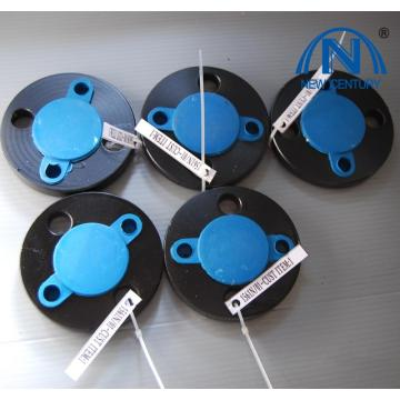 ASTM B16.5 300# Black Paint Threaded Flanges