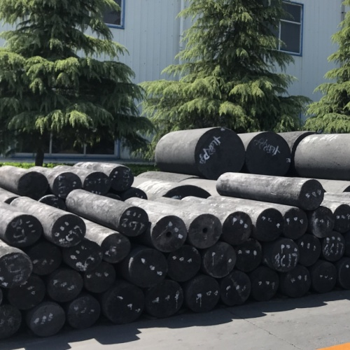 UHP 400mm/2100mm Graphite Electrodes for EAF LF