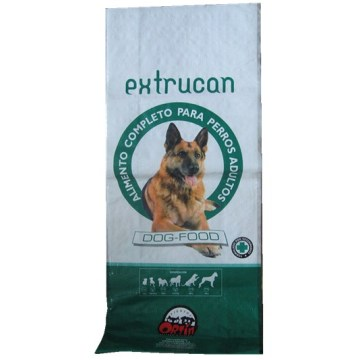 Printed Bopp Dog Food Pp Woven Bag