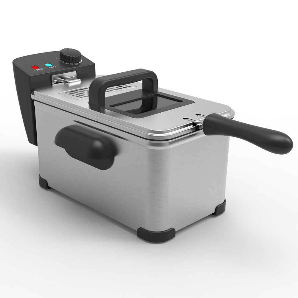 3L 2000-Watts Electric Deep Fryer